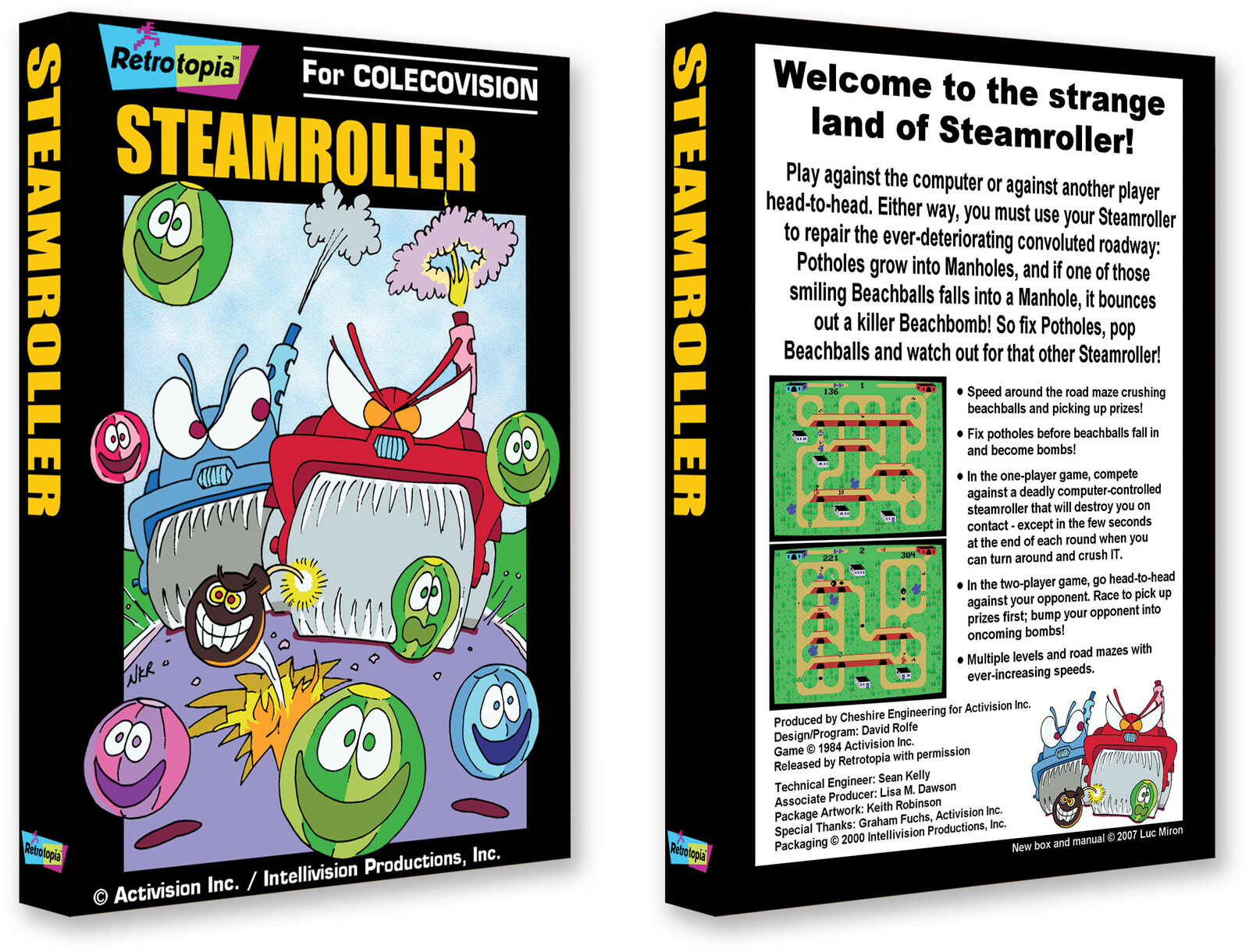 Steamroller - Intellivision Productions