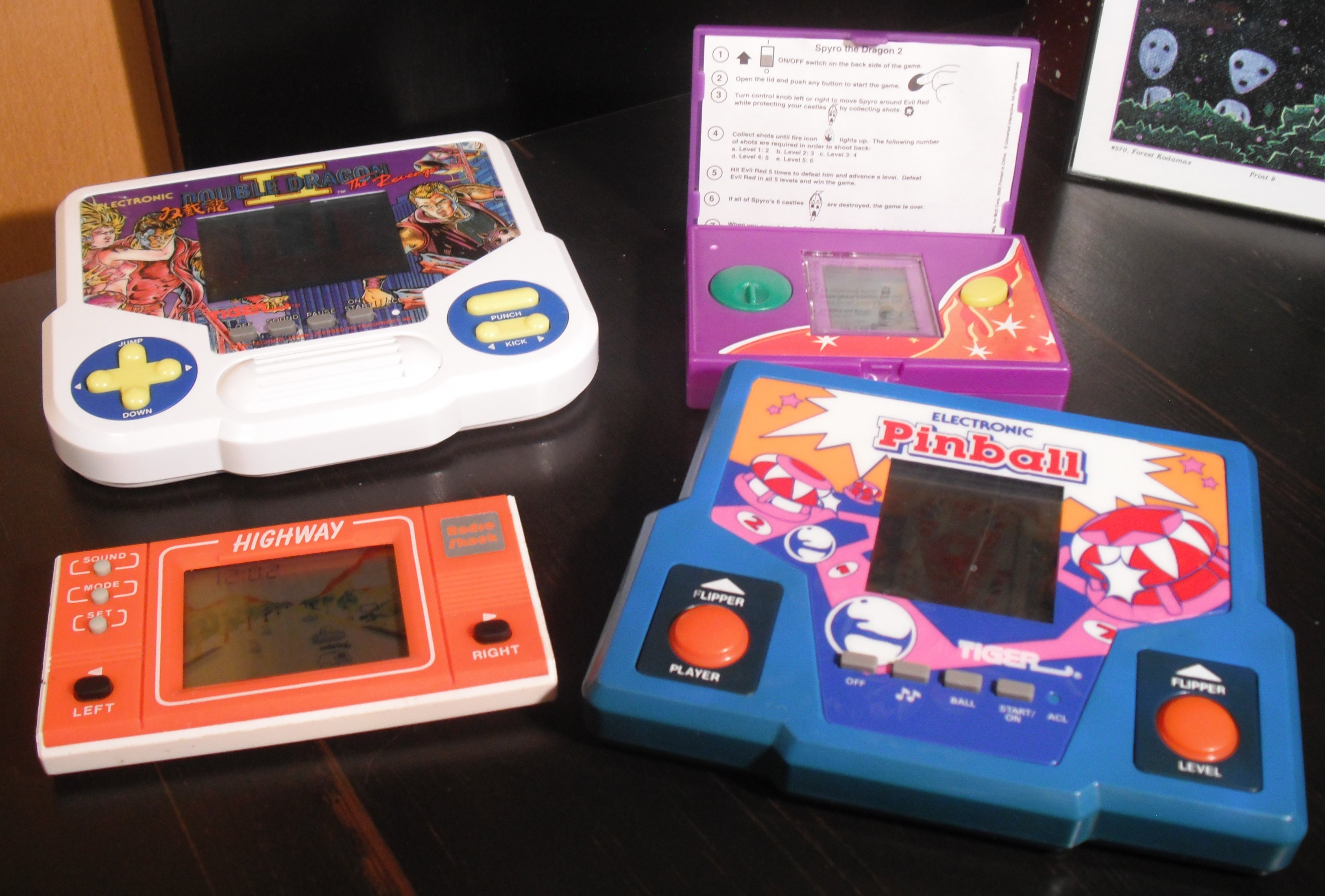 The Tiger Strikes Back! (LCD handheld games)