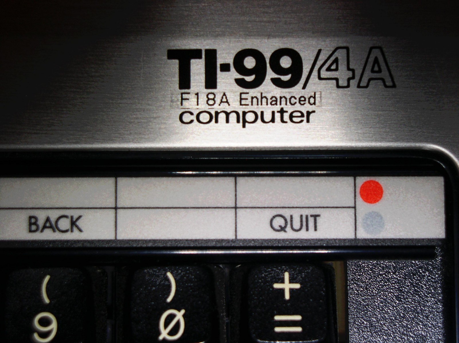 The #1 Modification for the TI-99/4A is... (updated 3/09/2019)