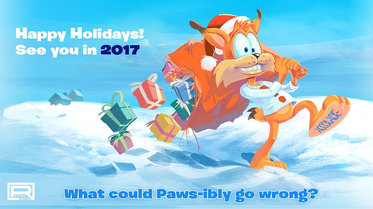 27 Days till Bubsy Launch (and introducing Squanchy)