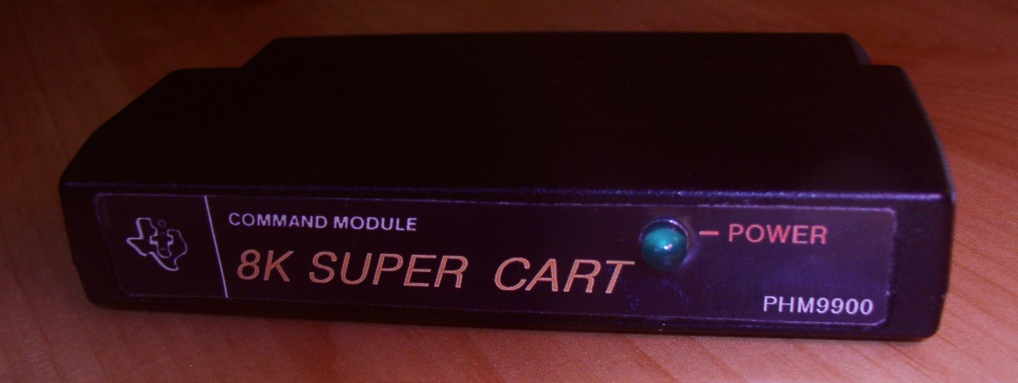 "The TI-99/4A ""Super Cart""... it was one of those MUST HAVE cartridges.  (Updated 09/15/2016)"