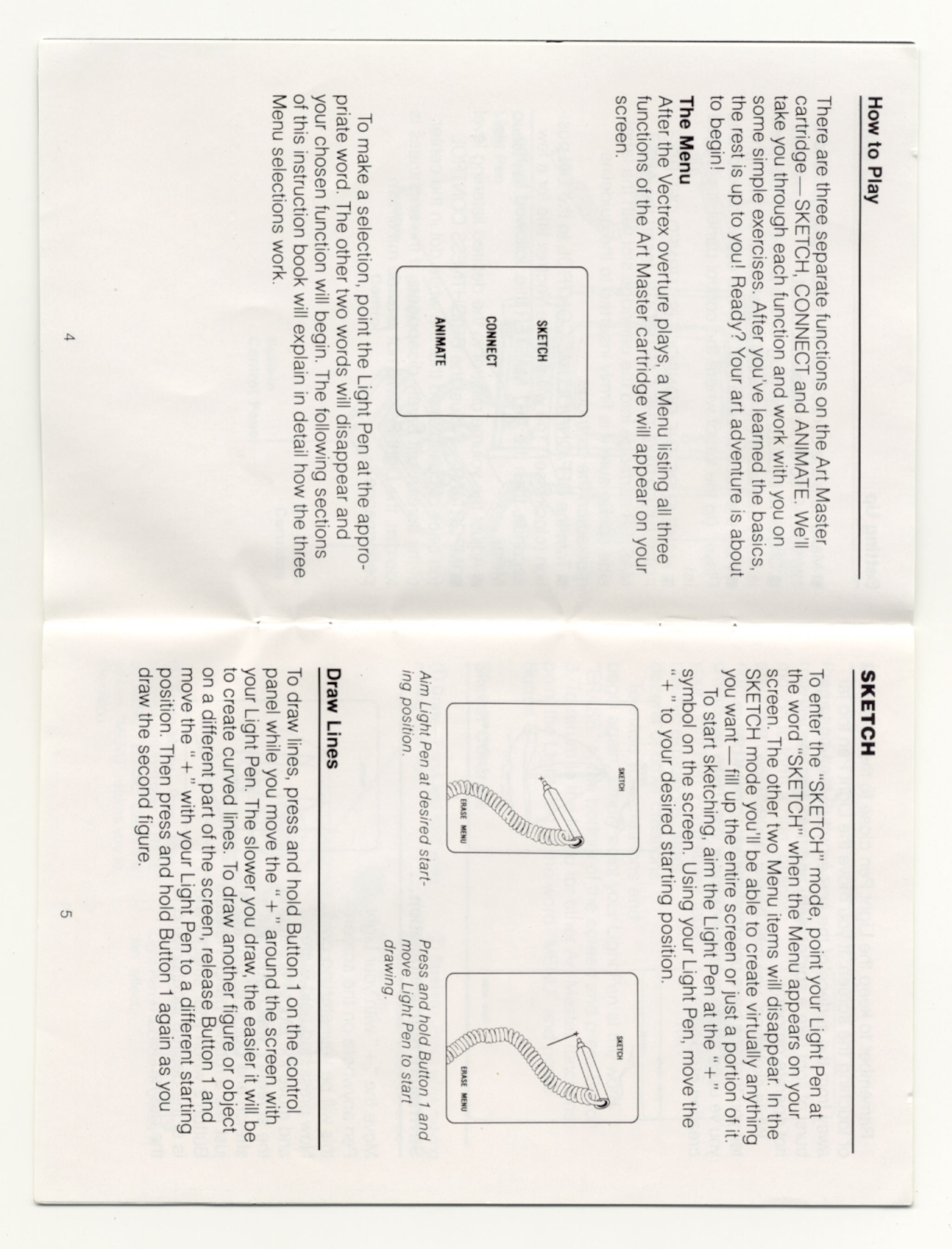 Wanted: Vectrex manual scans - Vectrex - AtariAge Forums