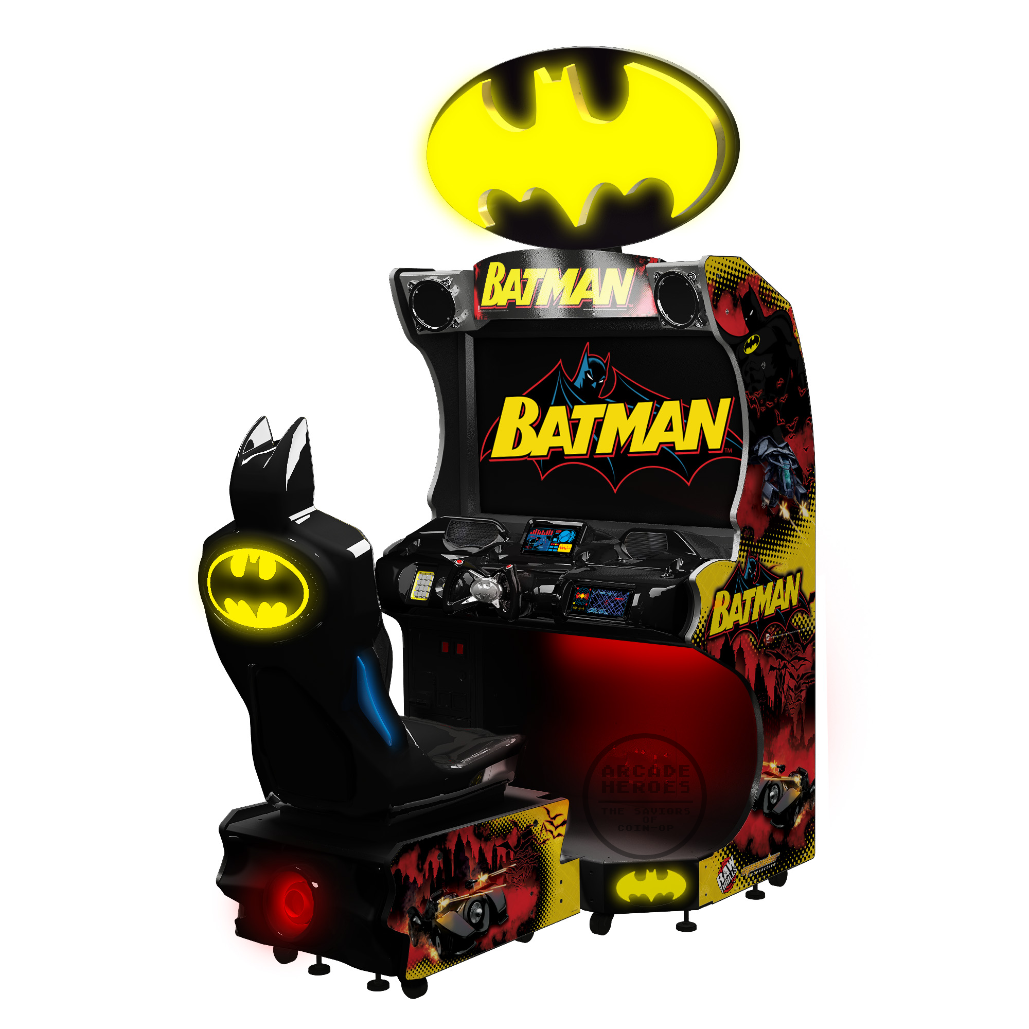 New Batman Racing Arcade Game Arcade And Pinball