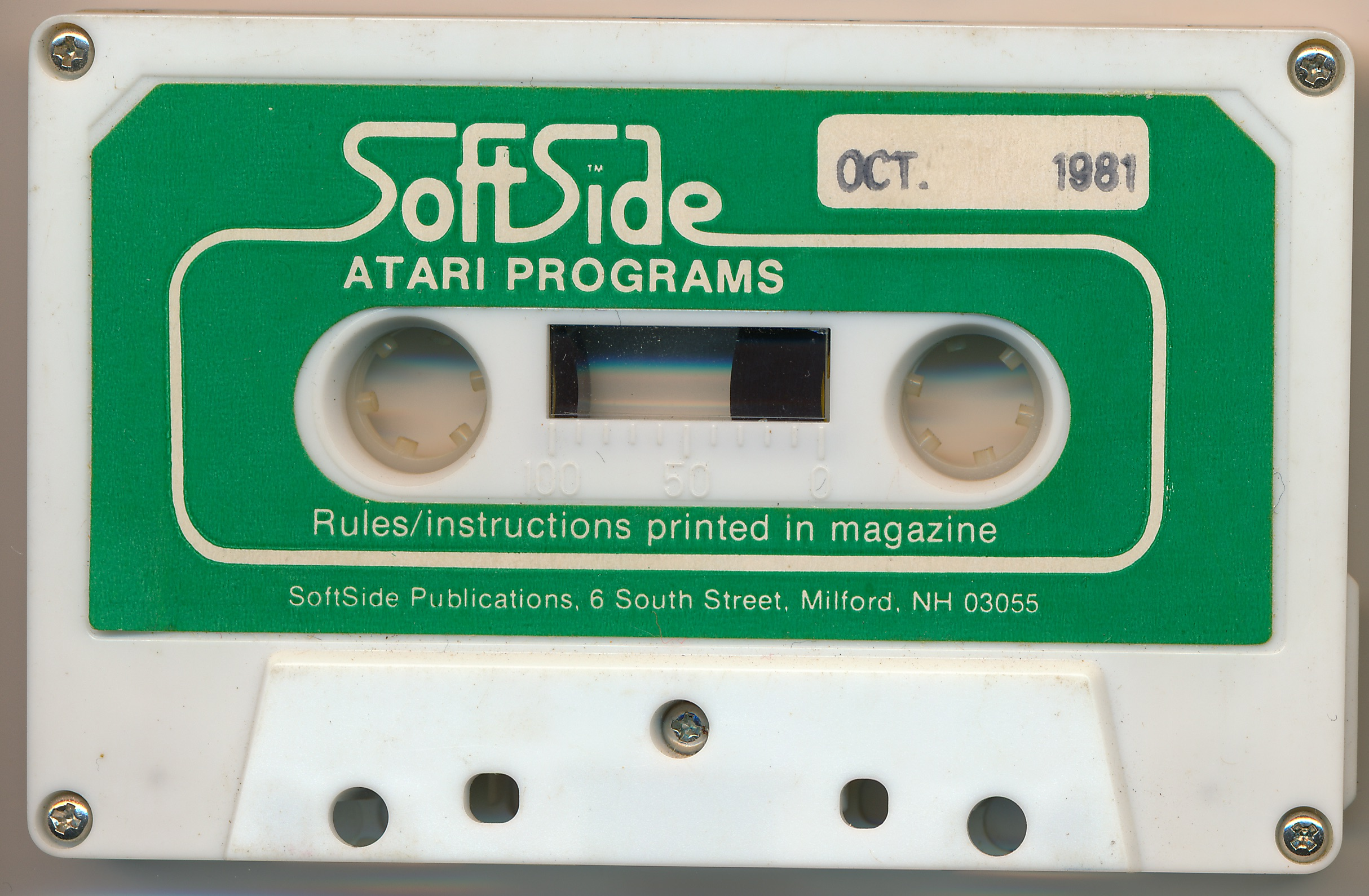 The Best of SoftSide : Atari® programs for the Atari® personal microcomputers