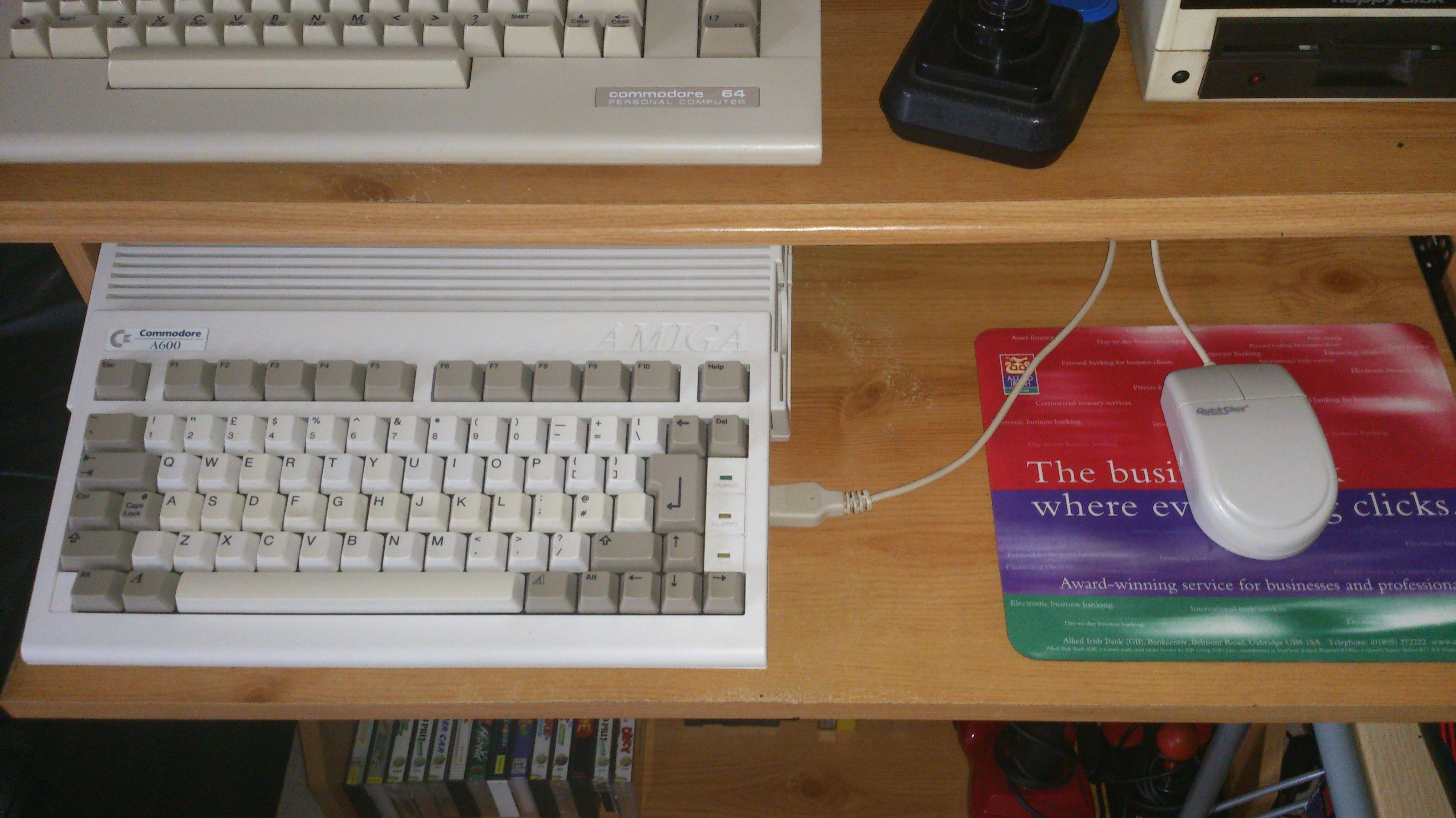 how to connect c64 to the 1551 disk drive