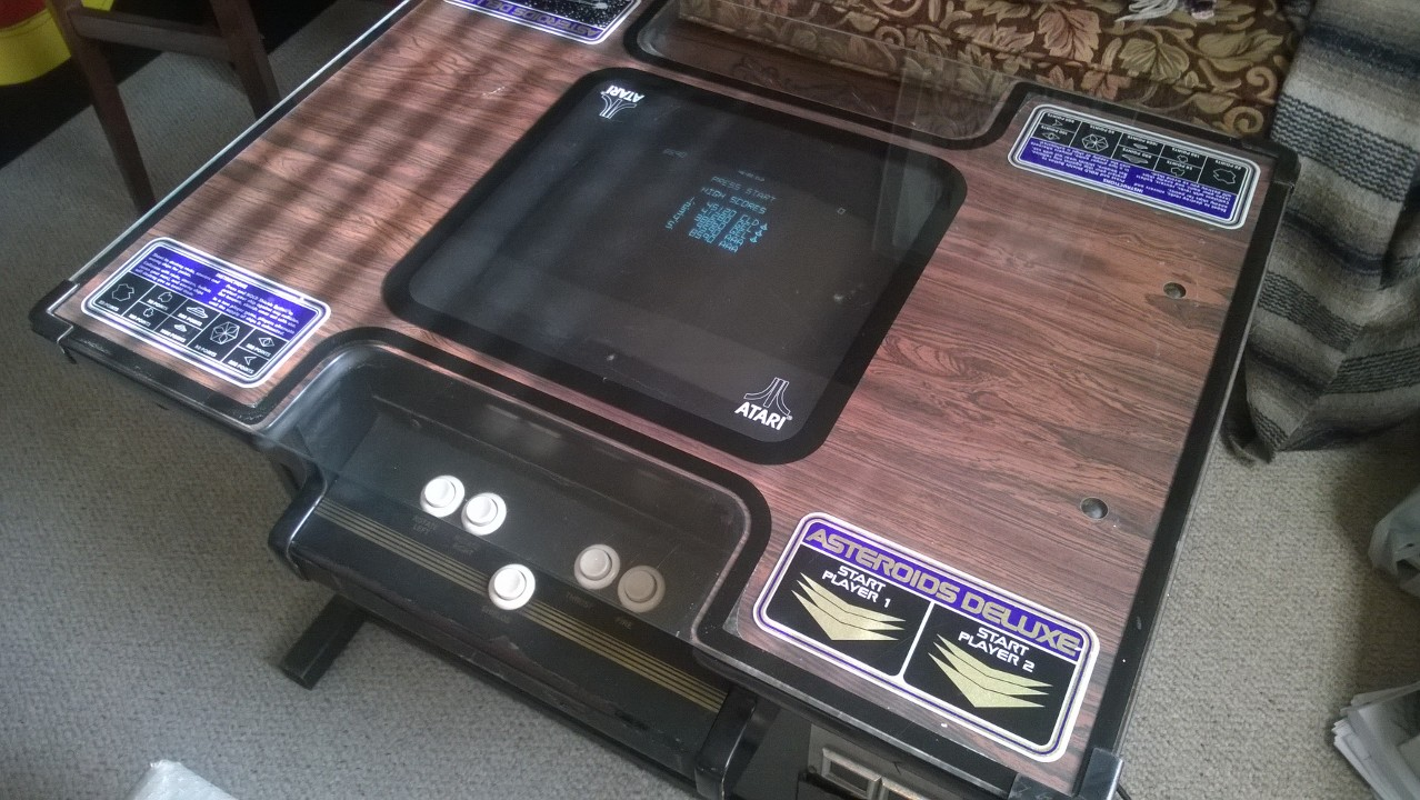 Purchased At The Texas Pinball Festival Arcade And Pinball - Atari coffee table