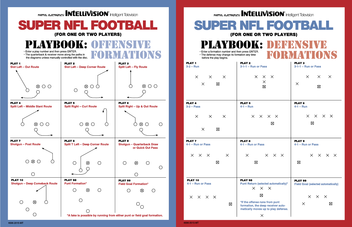 Nfl playbook gallery for Playmaker templates