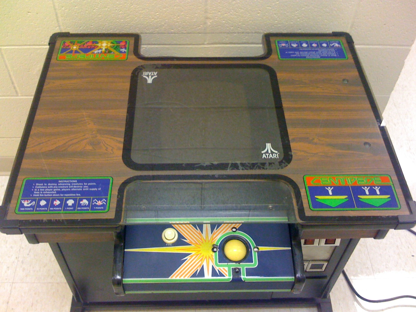 Fs Atari Centipede Cocktail Arcade Game Buy Sell And Trade Atariage Forums