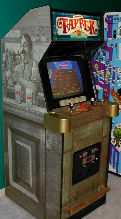 Dimensions For Original Tapper Game Cabinet Arcade And