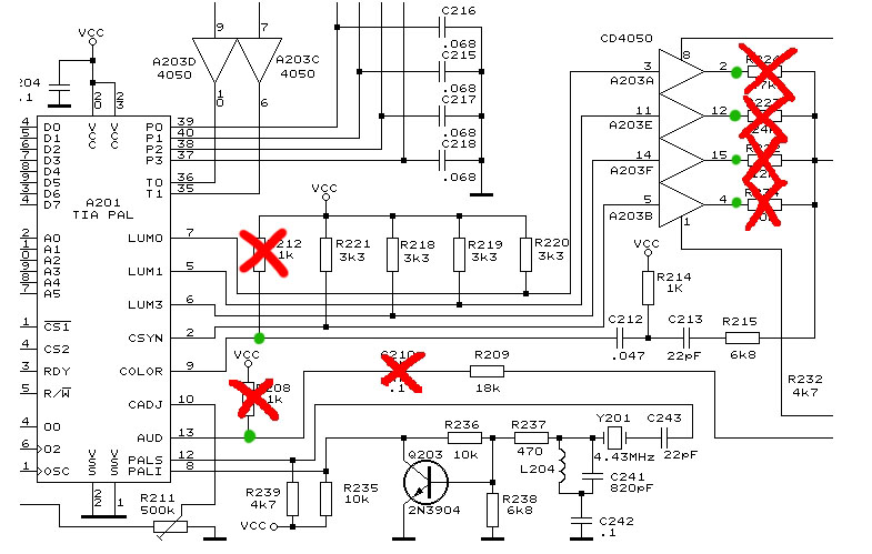 wiring diagram for atari 2600   29 wiring diagram images