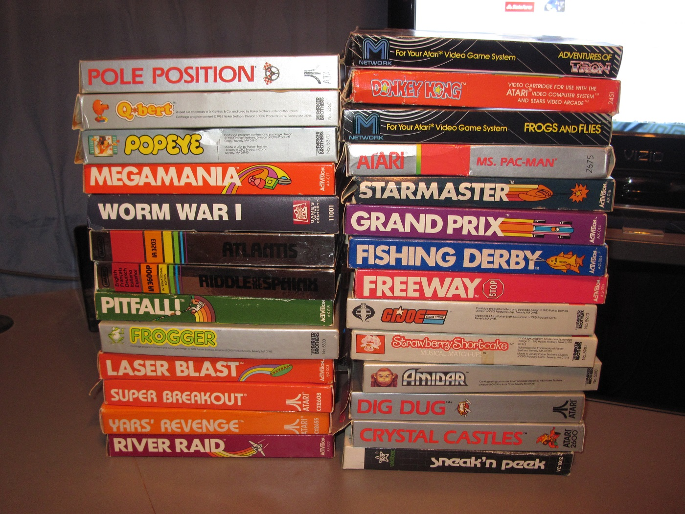 atari 2600 games for sale