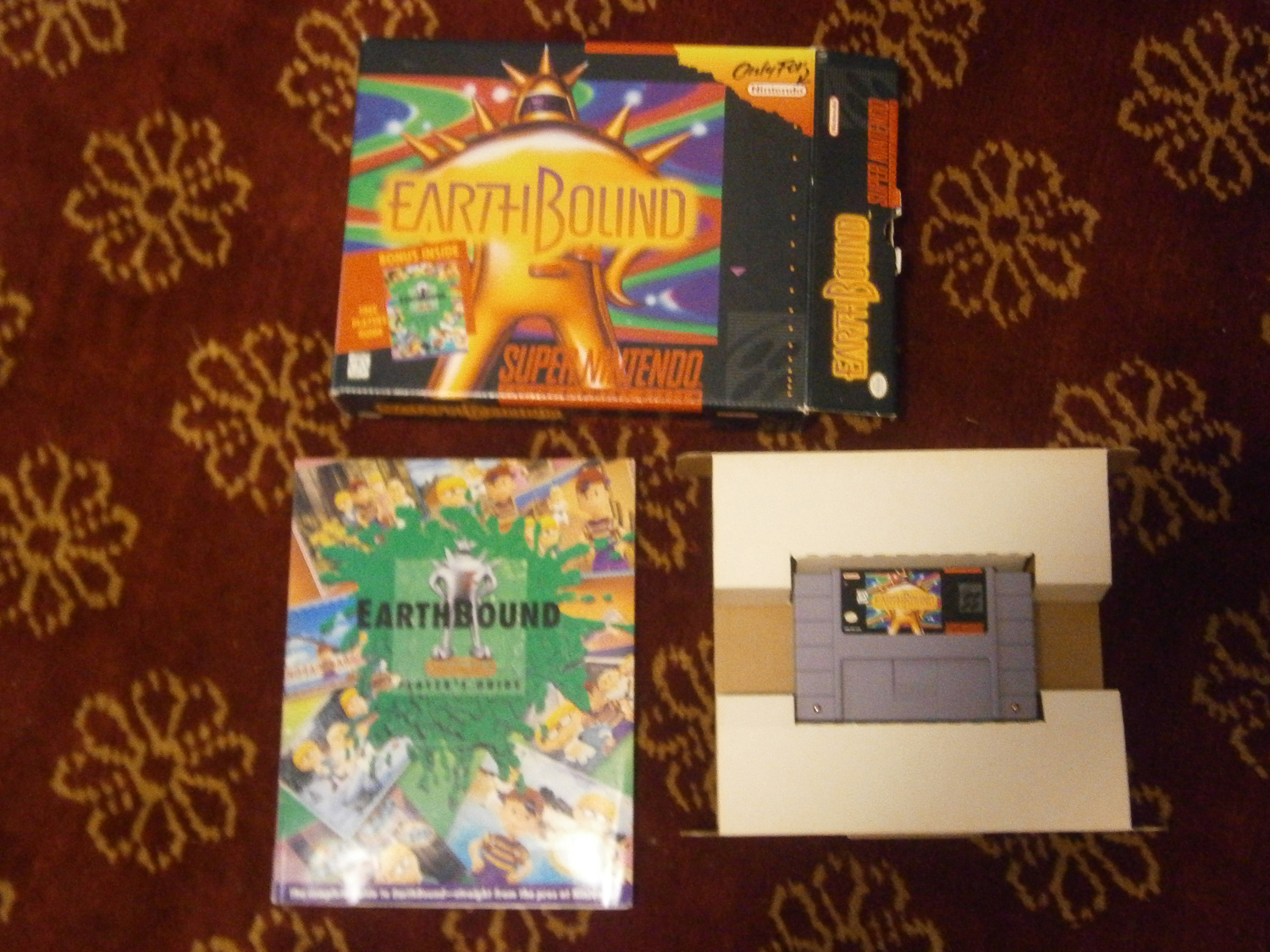 FS SNES Earthbound Big Box Version COMPLETE - Buy, Sell, and