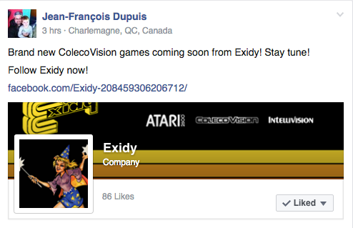New Colecovision Games From Exidy Colecovision Adam Atariage Forums