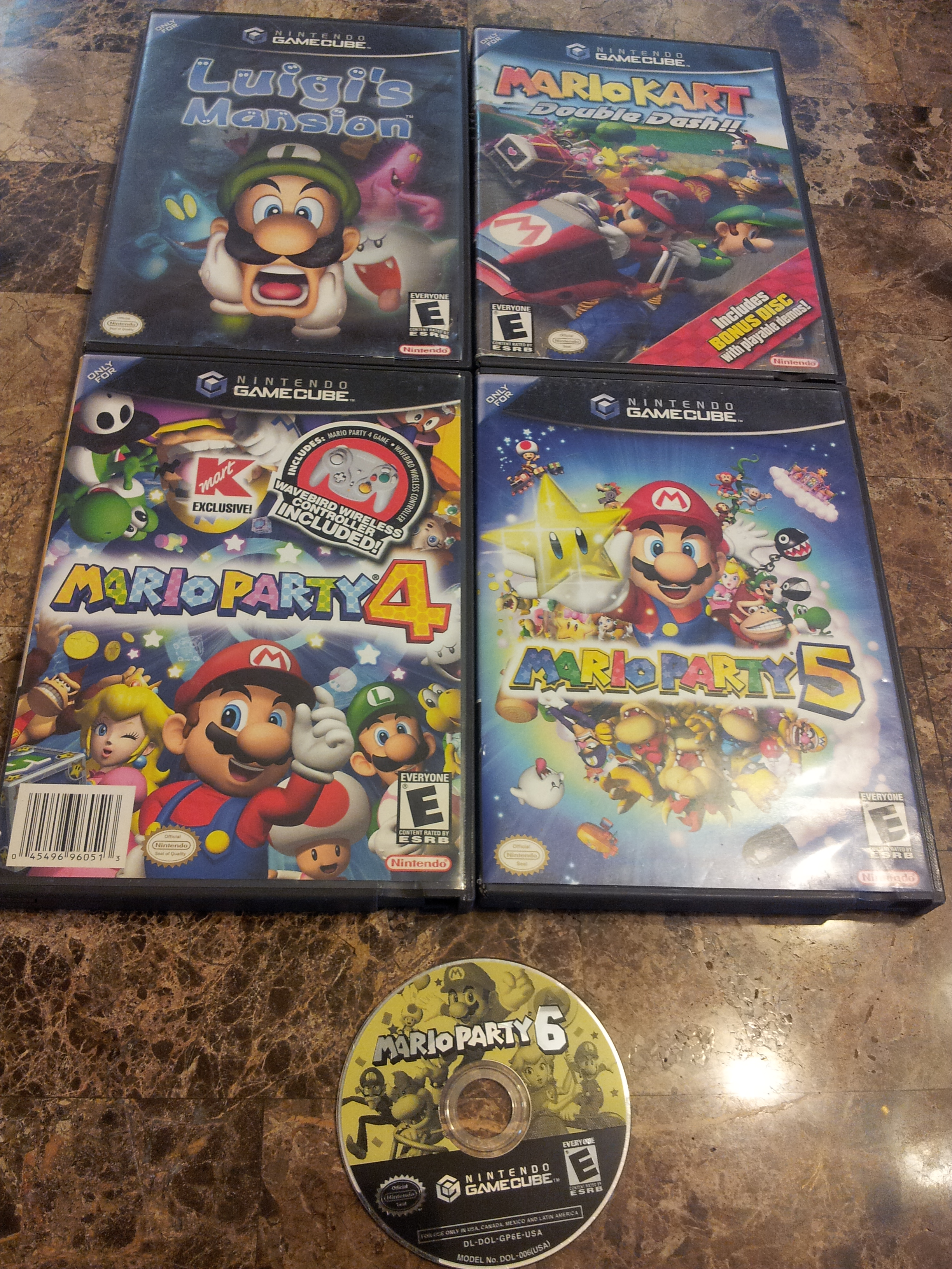 mario gamecube games  - buy  sell  and trade