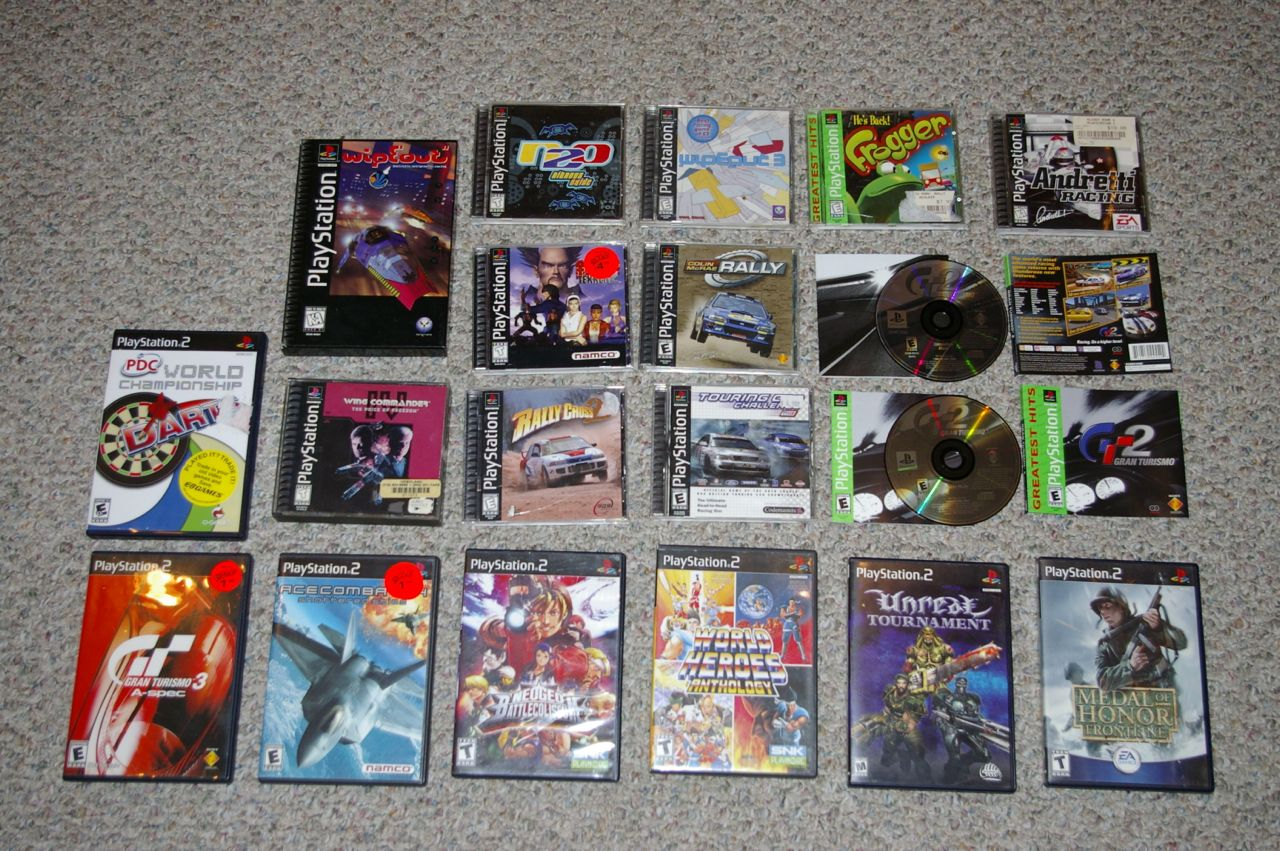 some ps1 and ps2 games - buy, sell, and trade - atariage forums