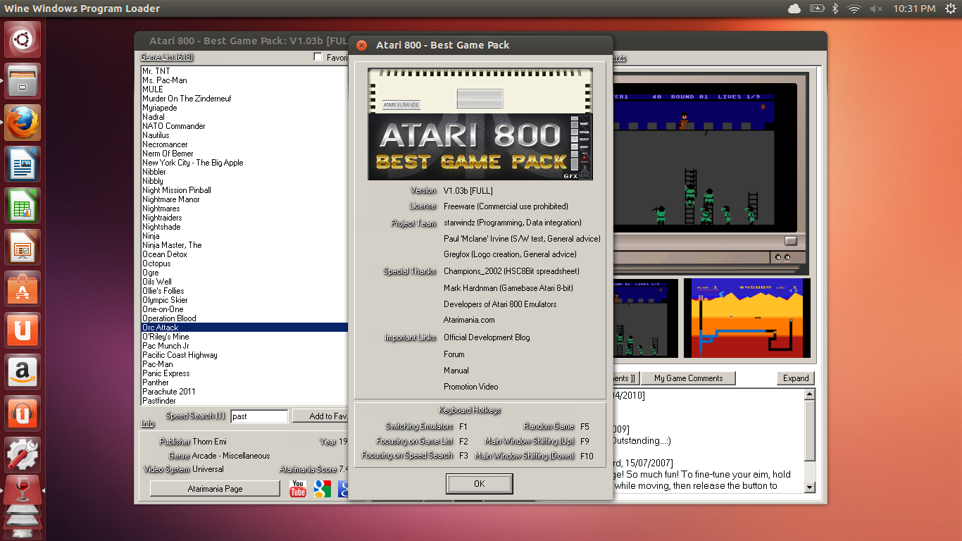 Atari 800 - Best Game Pack : Releases - Atari 8-Bit Computers