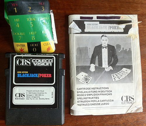 ColecoVision Consoles X 2, Steering Wheel & Games