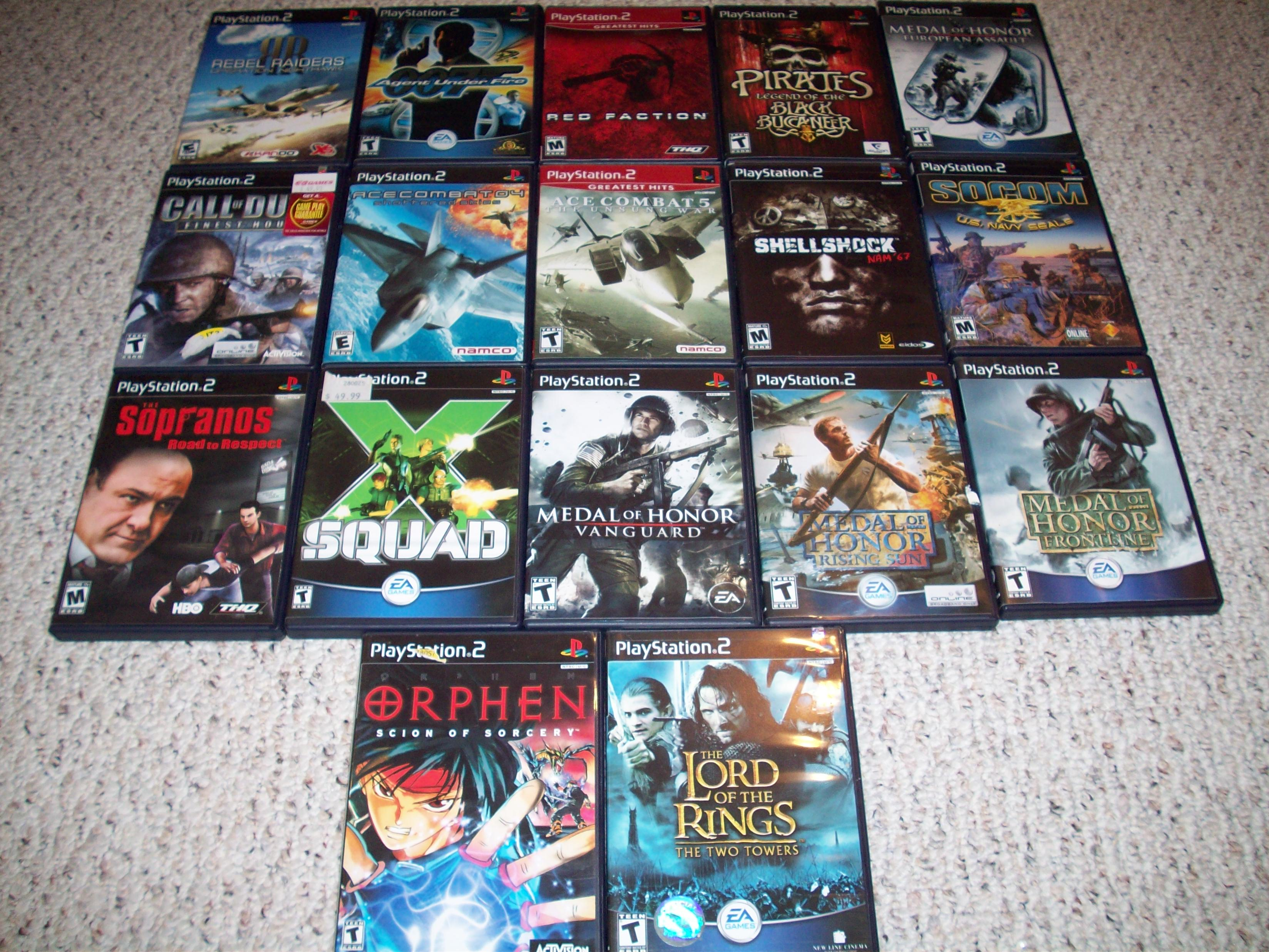 how to sell ps2 games