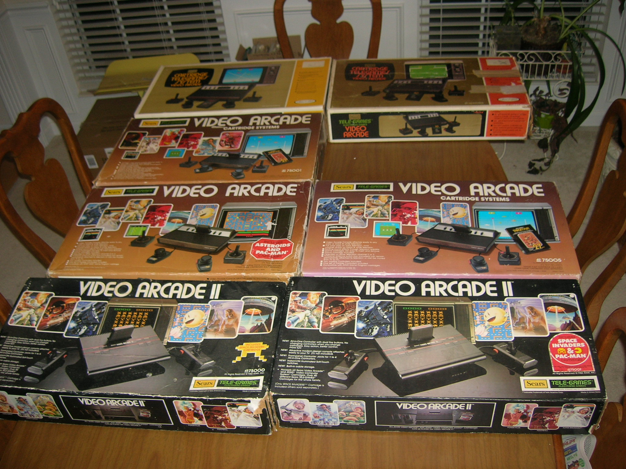 Calendar Monthly Uk : Various sears video arcade system boxes atari