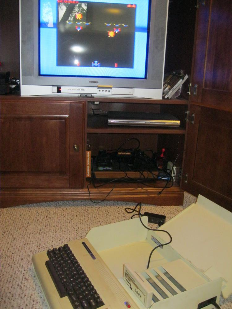 Commodore VC 1020 Expansion Chassis and Vic 20 Cart Lot
