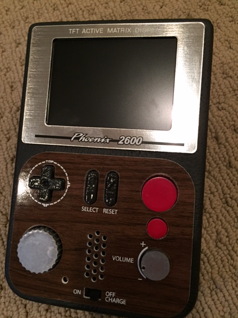 Used Car Batteries >> Atari 2600 Portable by Ben Heckendorn FOR SALE! - Buy ...