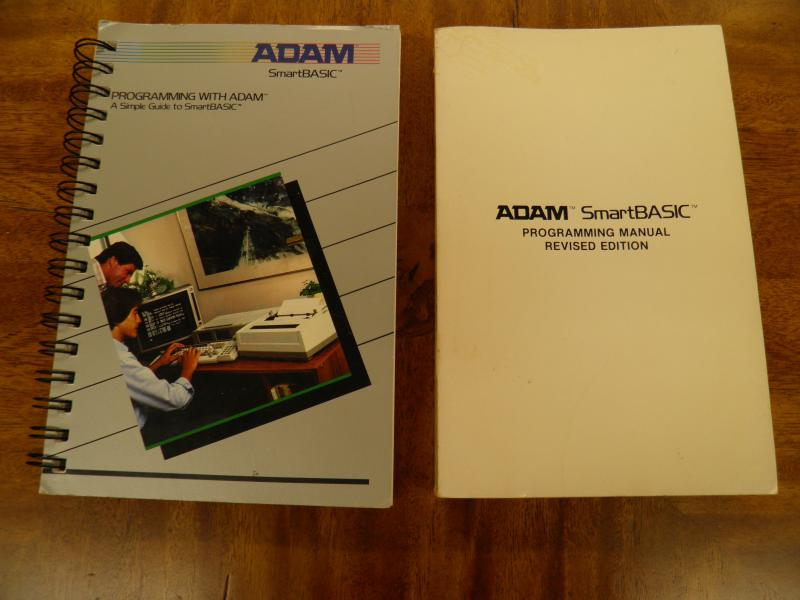 Coleco ADAM SmartBasic manuals.JPG
