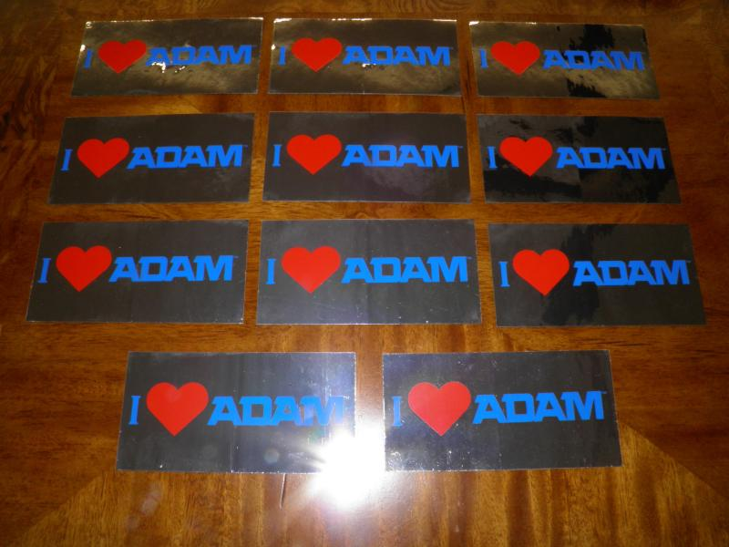 Coleco I Love ADAM stickers.JPG