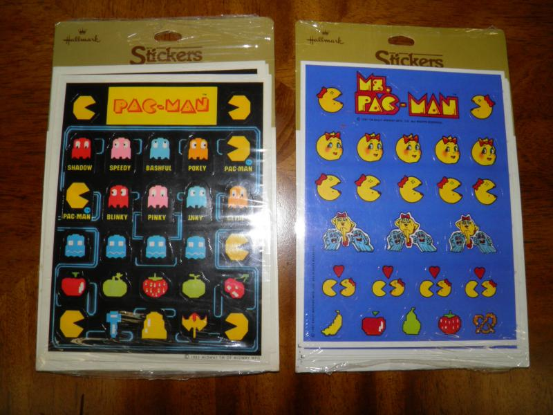 PACAMAN AND MS. PACMAN STICKERS.JPG