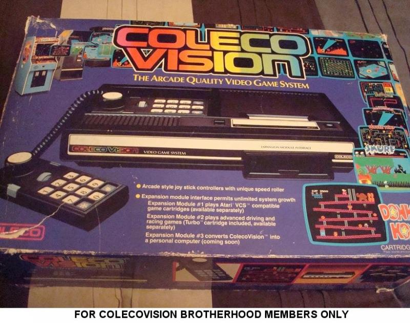 ColecoVision (USA) - Purple Prototype Box (Front).jpg