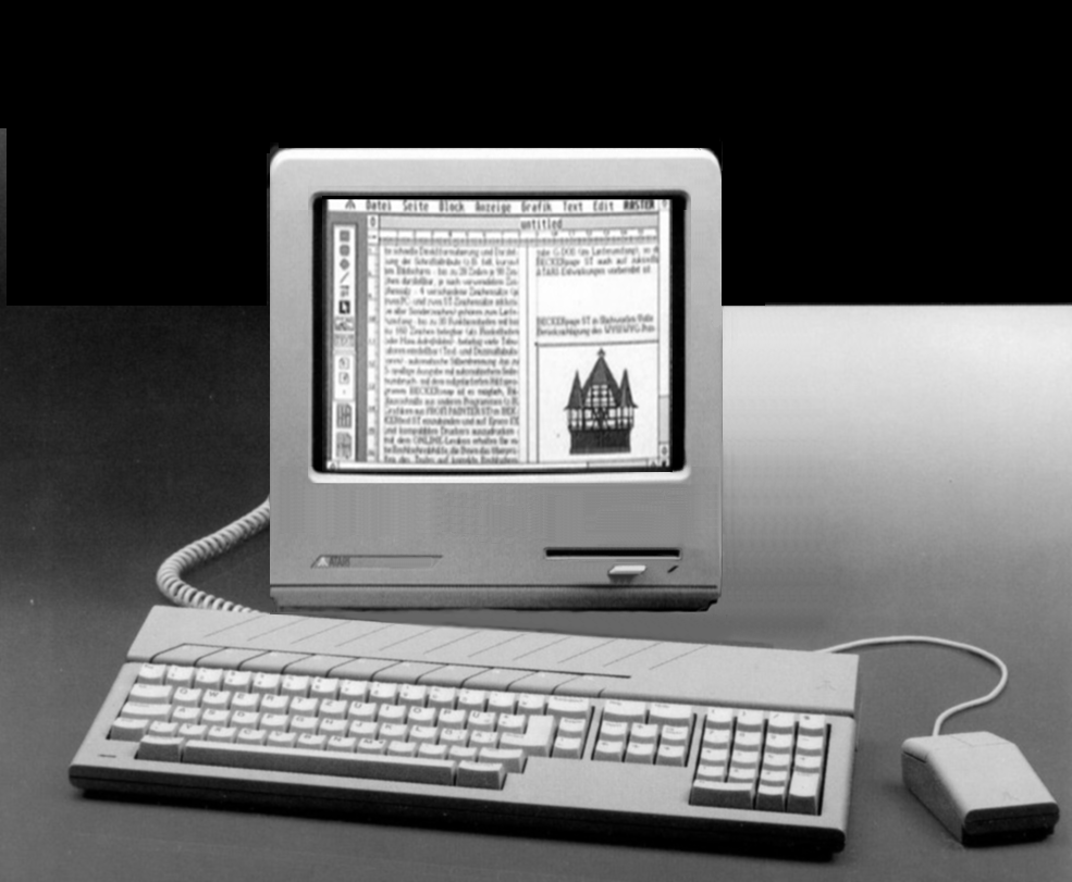 Did the Atari answer to the Amstrad PCW dedicated WP machine exist
