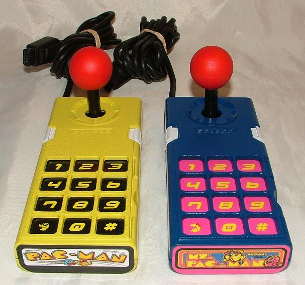 pac-man controllers - colecovision    adam