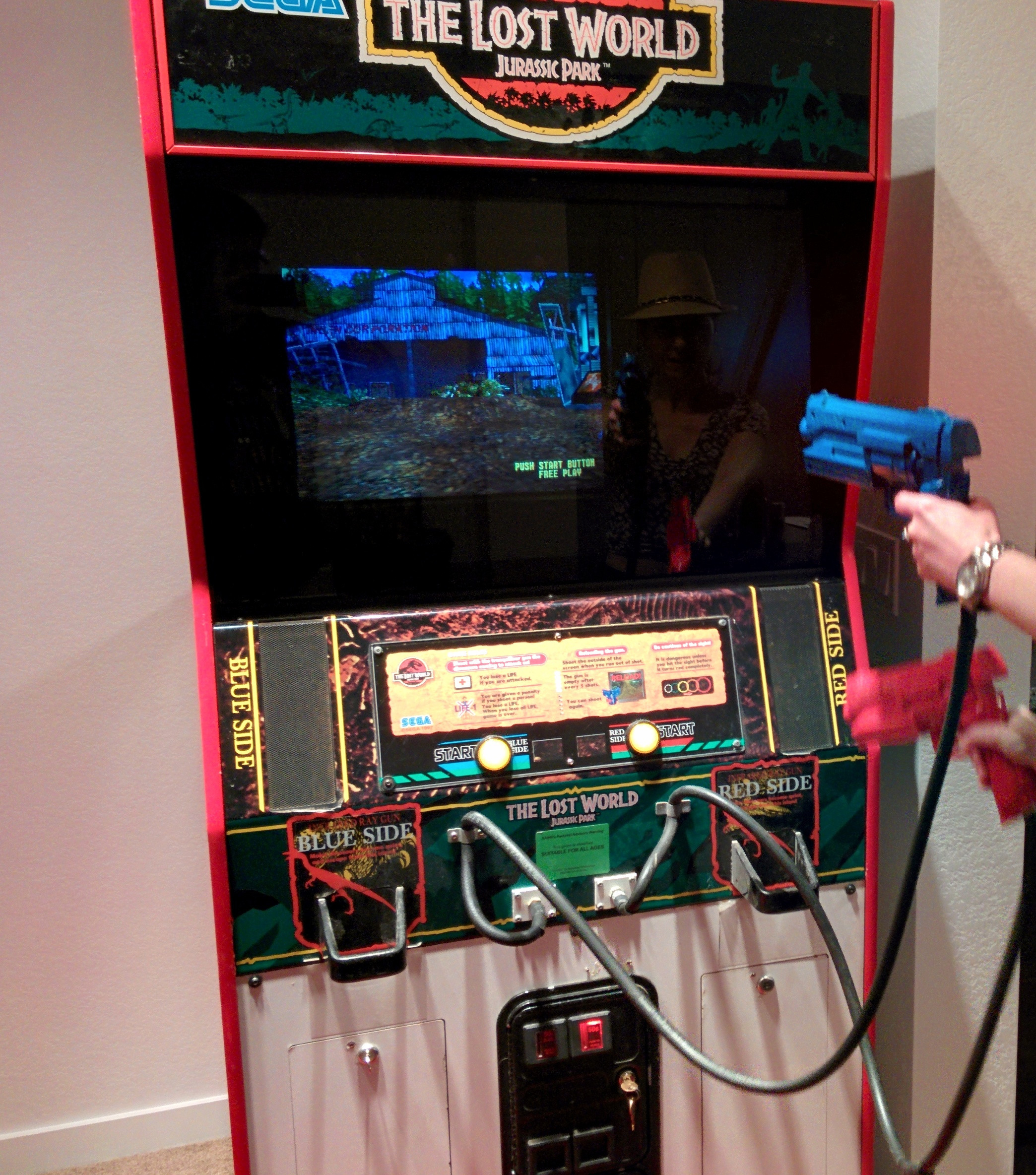 The Lost World Arcade Machine - Marketplace - AtariAge Forums