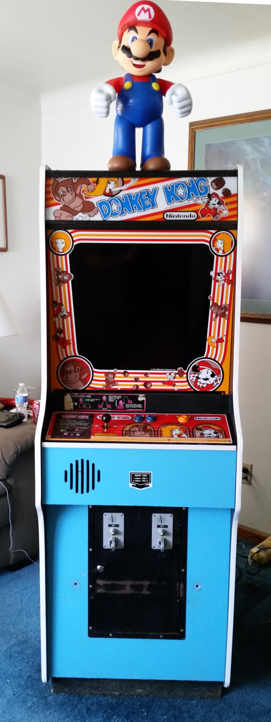 Donkey Kong rom files for programming EPROMs - Arcade and Pinball