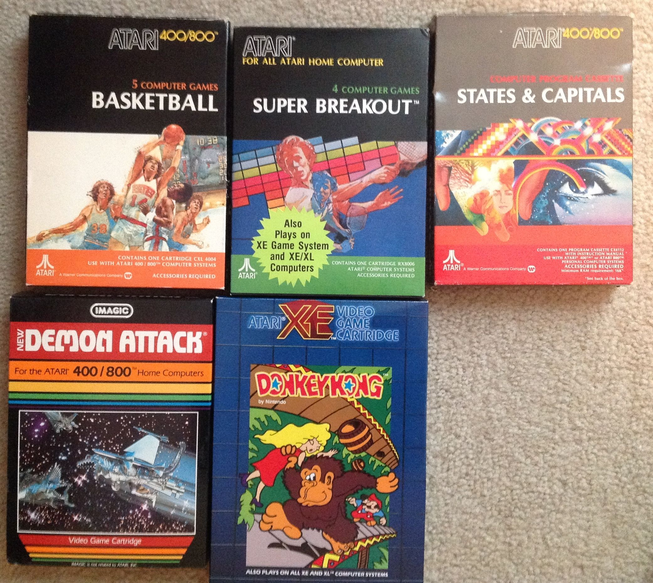 ENDED]CIB A8, Lynx, Genesis, SNES and O2 Games For Sale