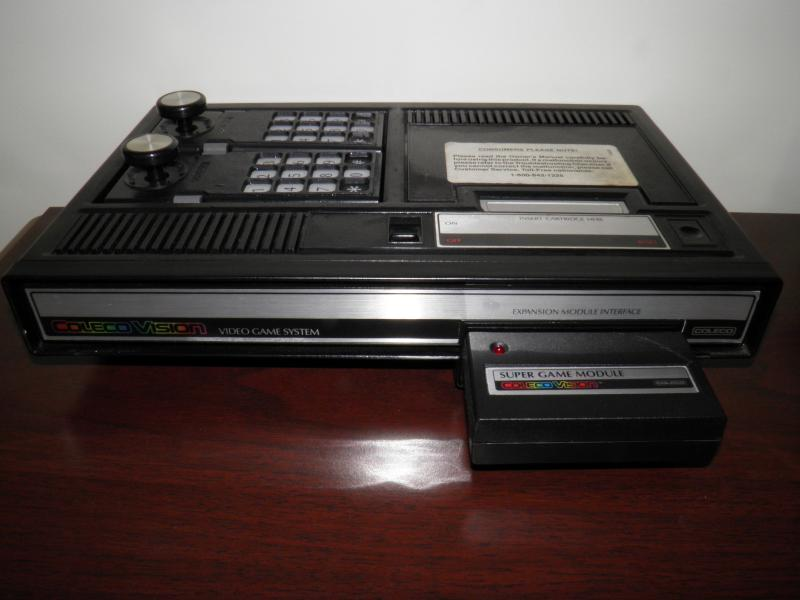 ColecoVision with Supergame module.JPG