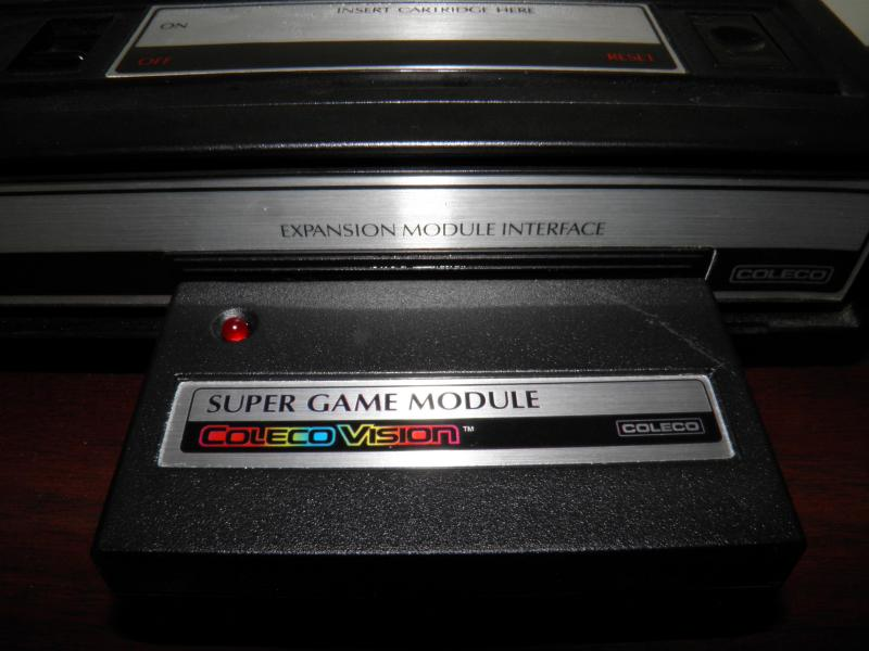 ColecoVision with Supergame module pic2.JPG