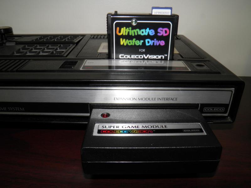 ColecoVision with Wafer Drive pic 2.JPG