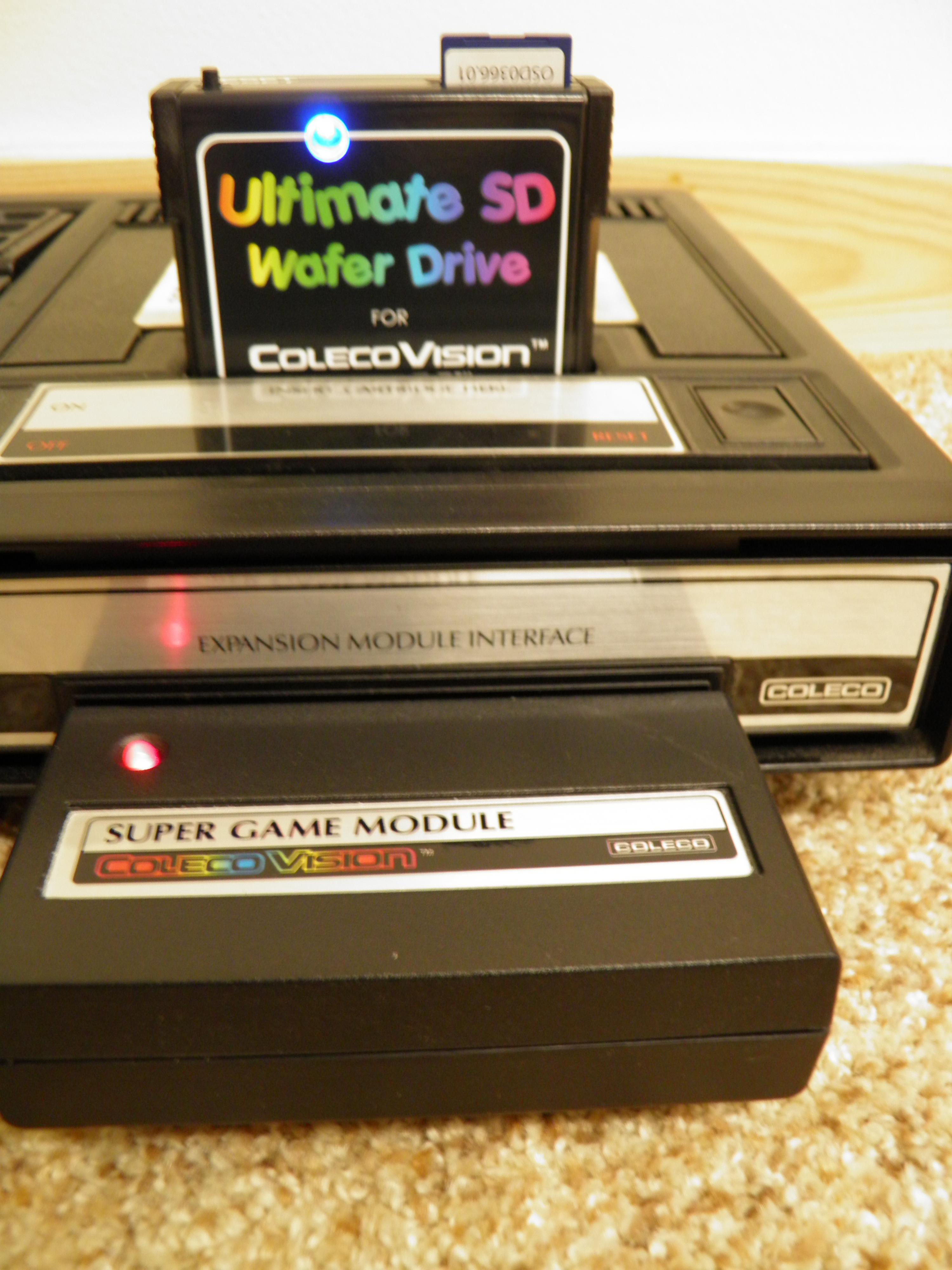 ColecoVision/ADAM Ultimate SD Wafer Drive (Up to 32GB of