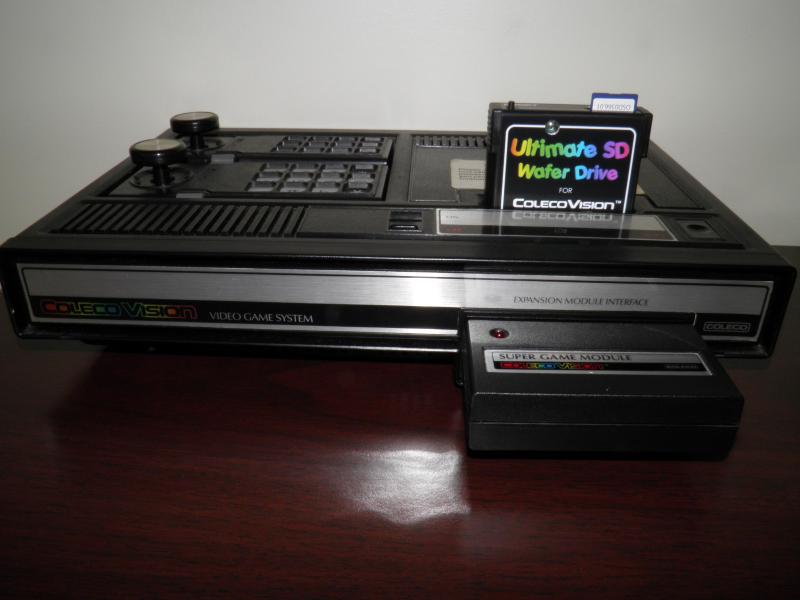 ColecoVision with Wafer Drive.JPG