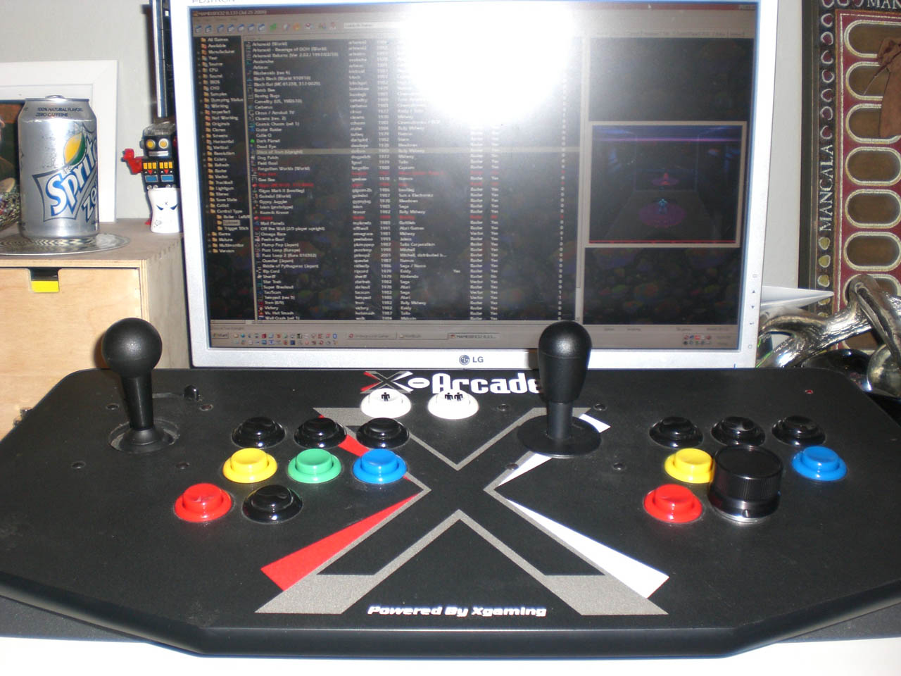 MAME: how to do with games that need special controls