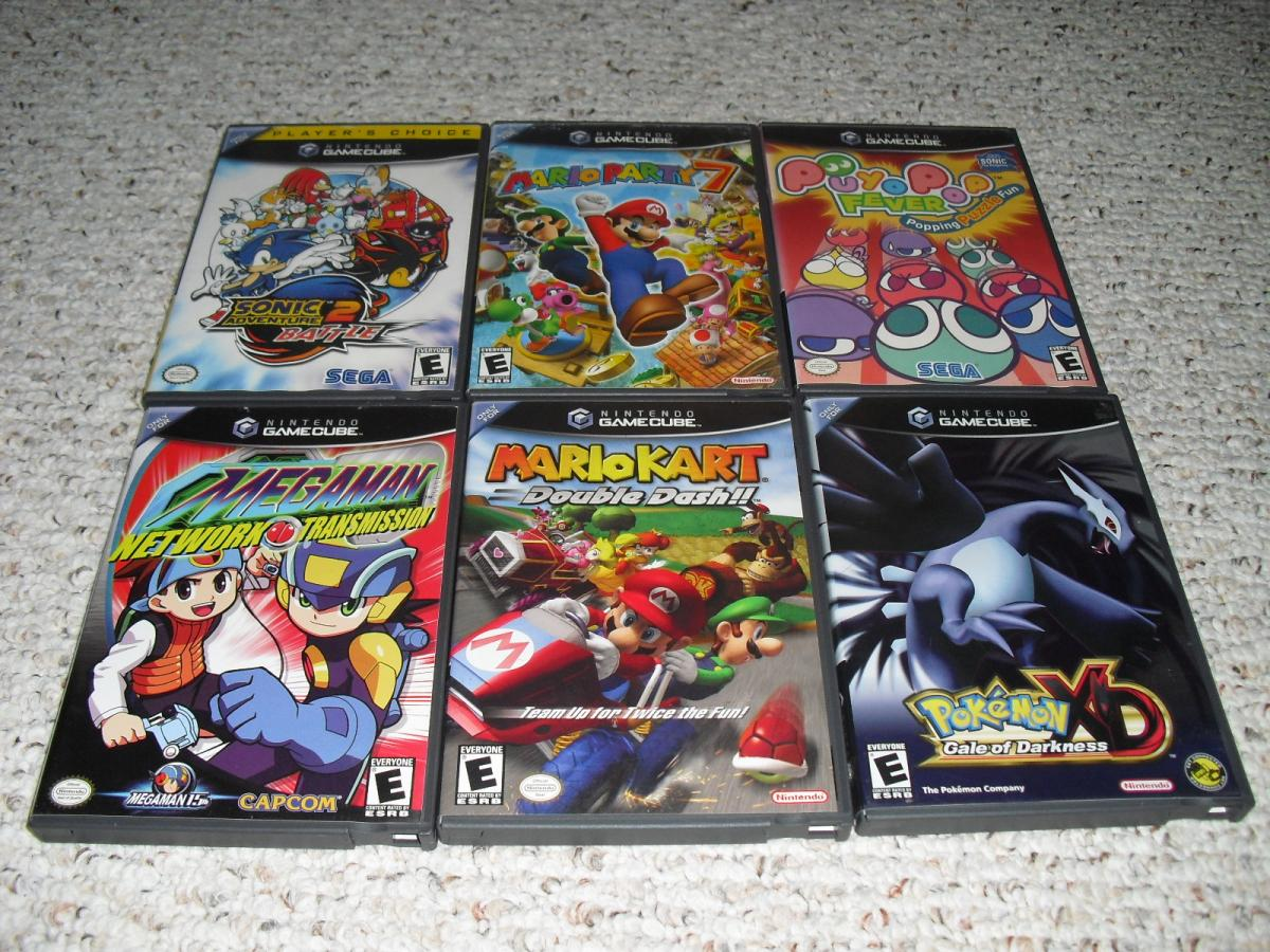 Cheap Incomplete (mainly) GameCube Games-Mario Kart, Sonic Ad. 2 Battle... - Buy, Sell, and ...