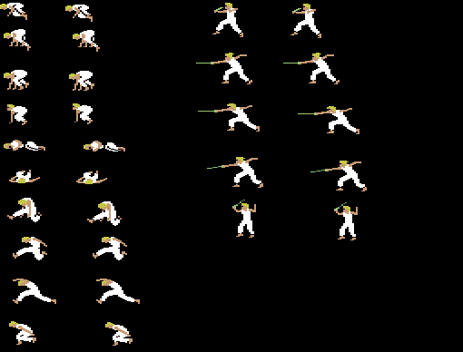 Prince Of Persia Sprite Related Keywords Suggestions Prince Of