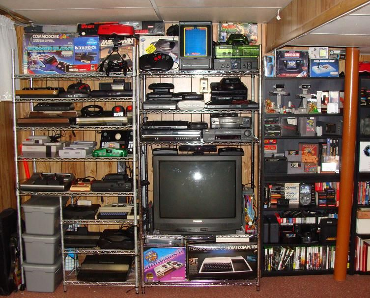 my video game collection