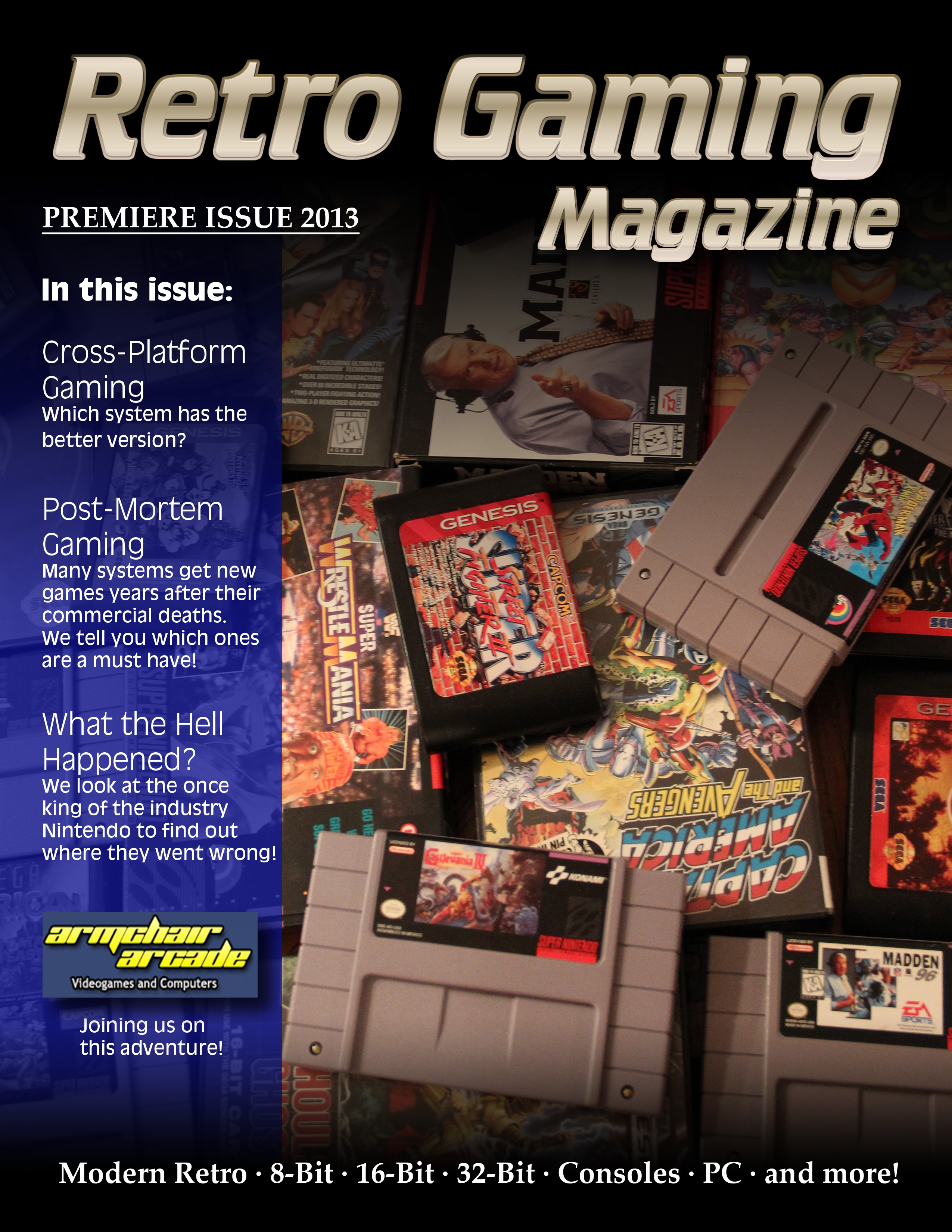Retro Gaming Magazine Launching Soon - Gaming Publications