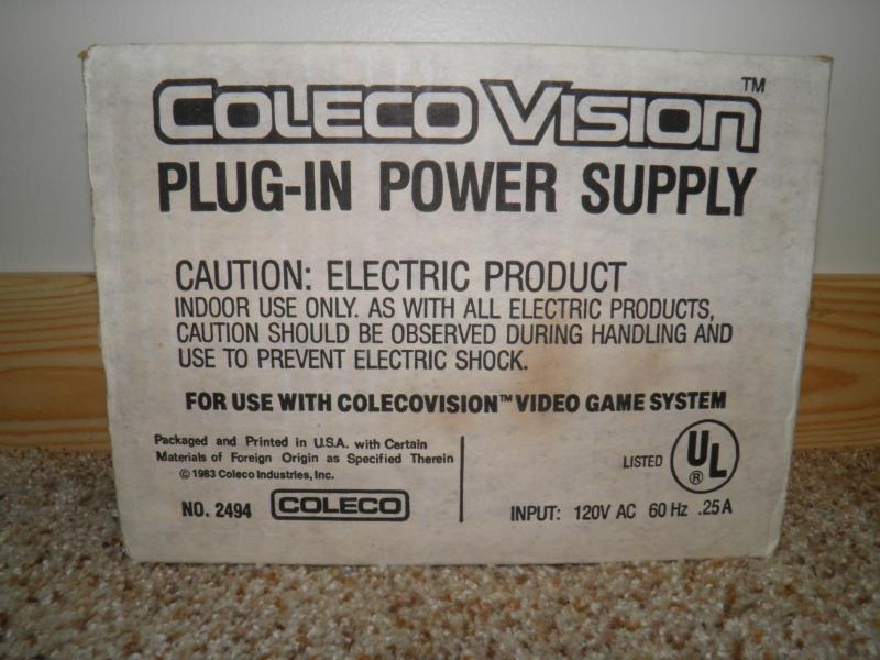 ColecoVision power supply retail box.JPG