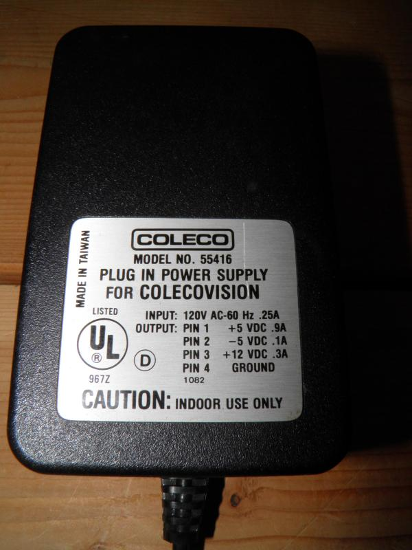ColecoVision power adapter.JPG