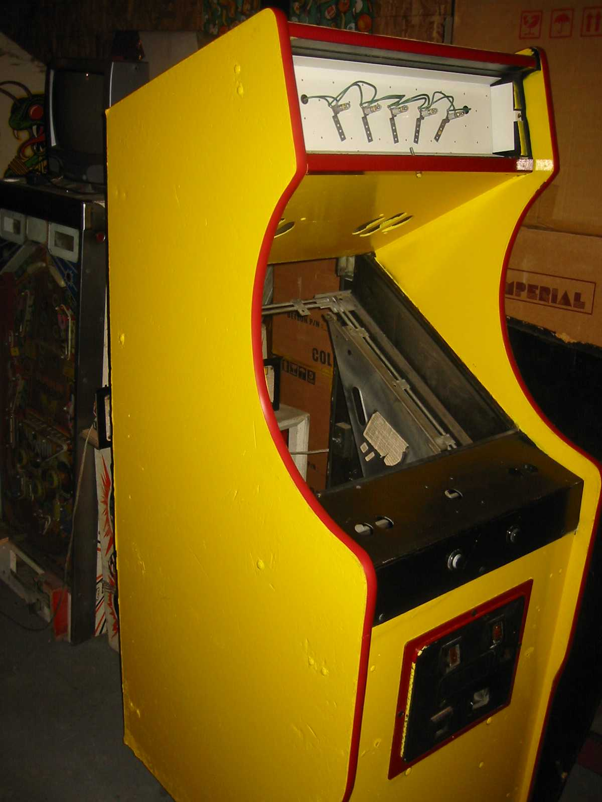 Arcade Cabinet Dimensions Taito Cabinet Dimensions Arcade And Pinball Atariage Forums
