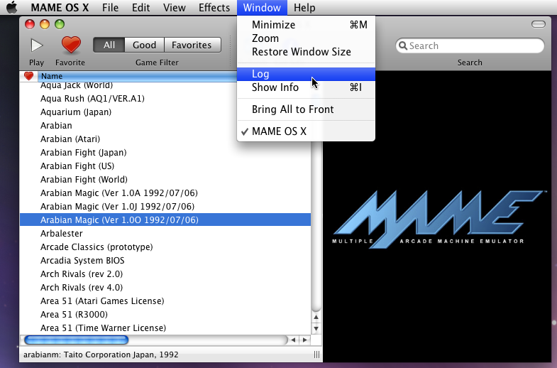 Mac MAME   does it even work? - Emulation - AtariAge Forums