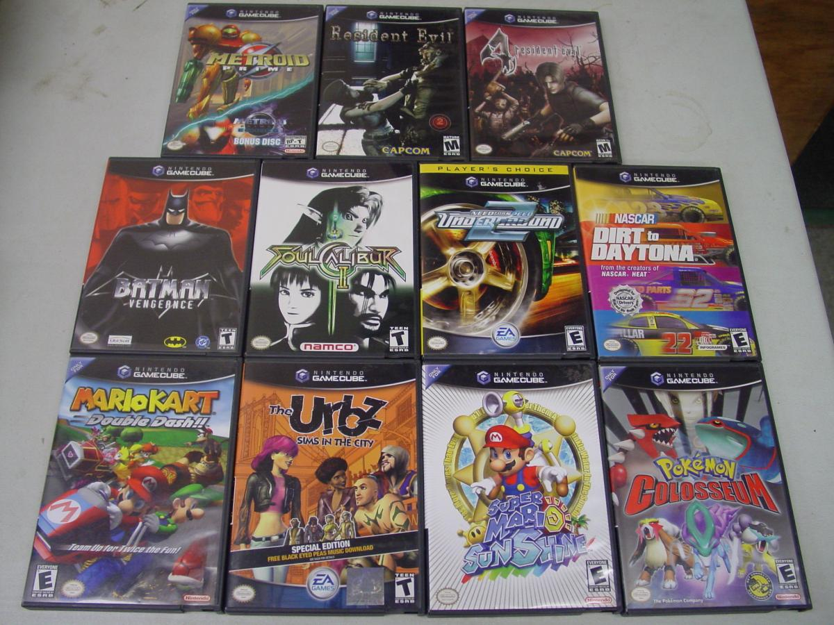 FS Some NES Carts and CIB Gamecube Titles - Buy, Sell, and Trade - AtariAge Forums