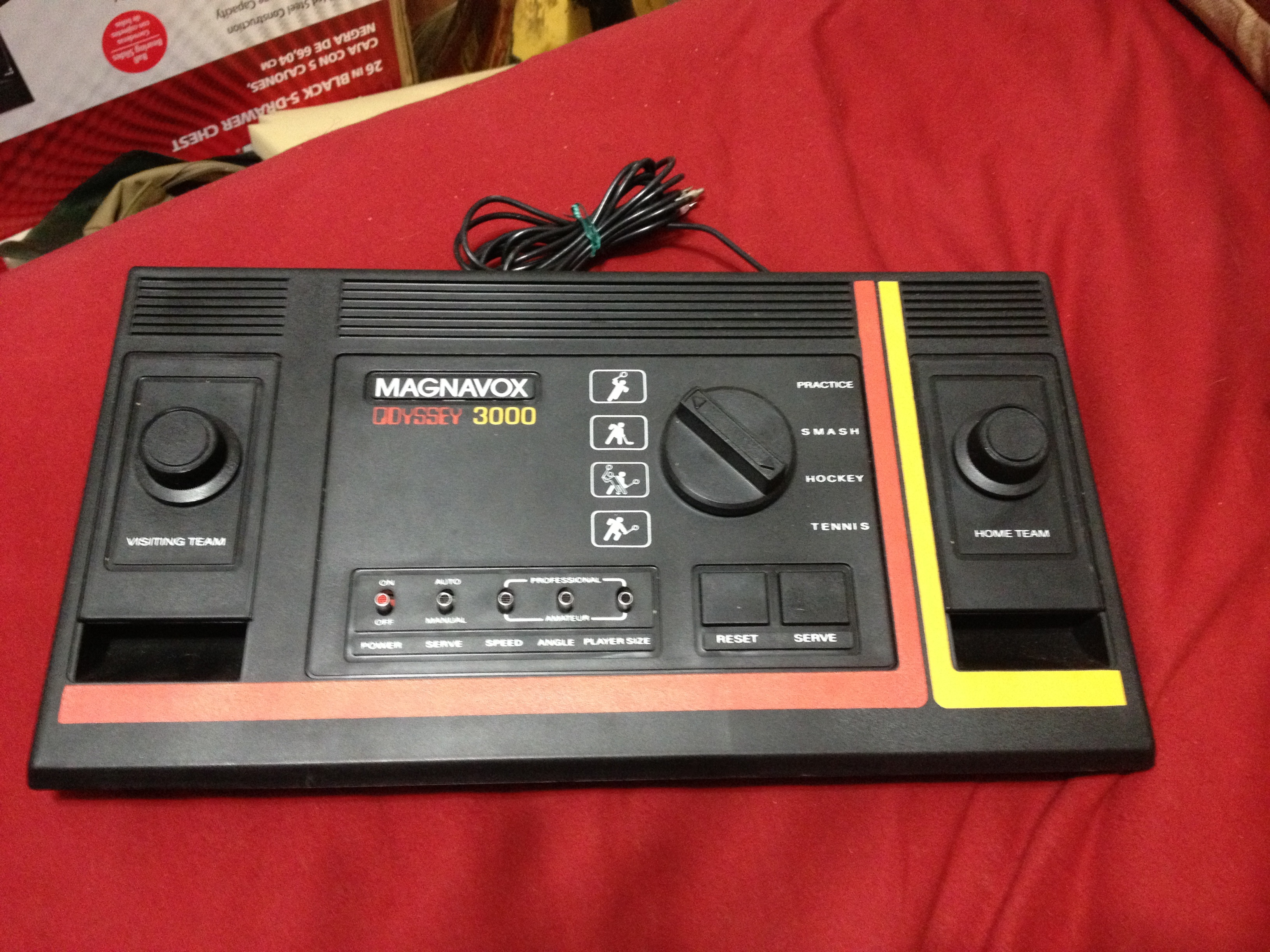 Magnavox Odyssey 3000 Power Dedicated Systems Atariage
